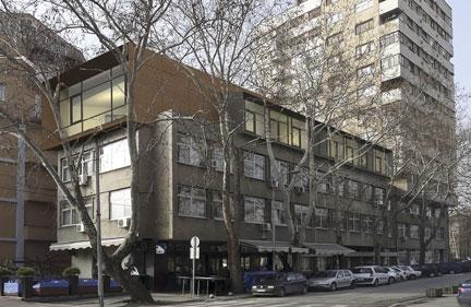 Nadogradnja zgrade Direkcije za izgradnju grada Niša